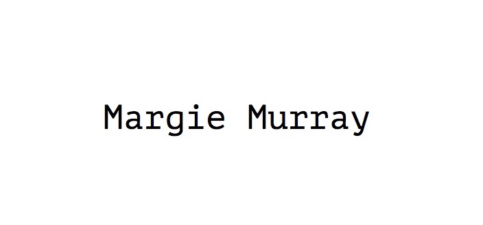Margie Murray Signature