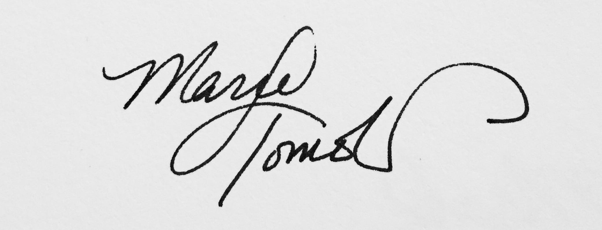 Marie Tomeoki Signature