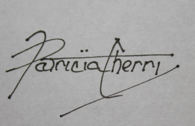 Patricia Cherry Signature