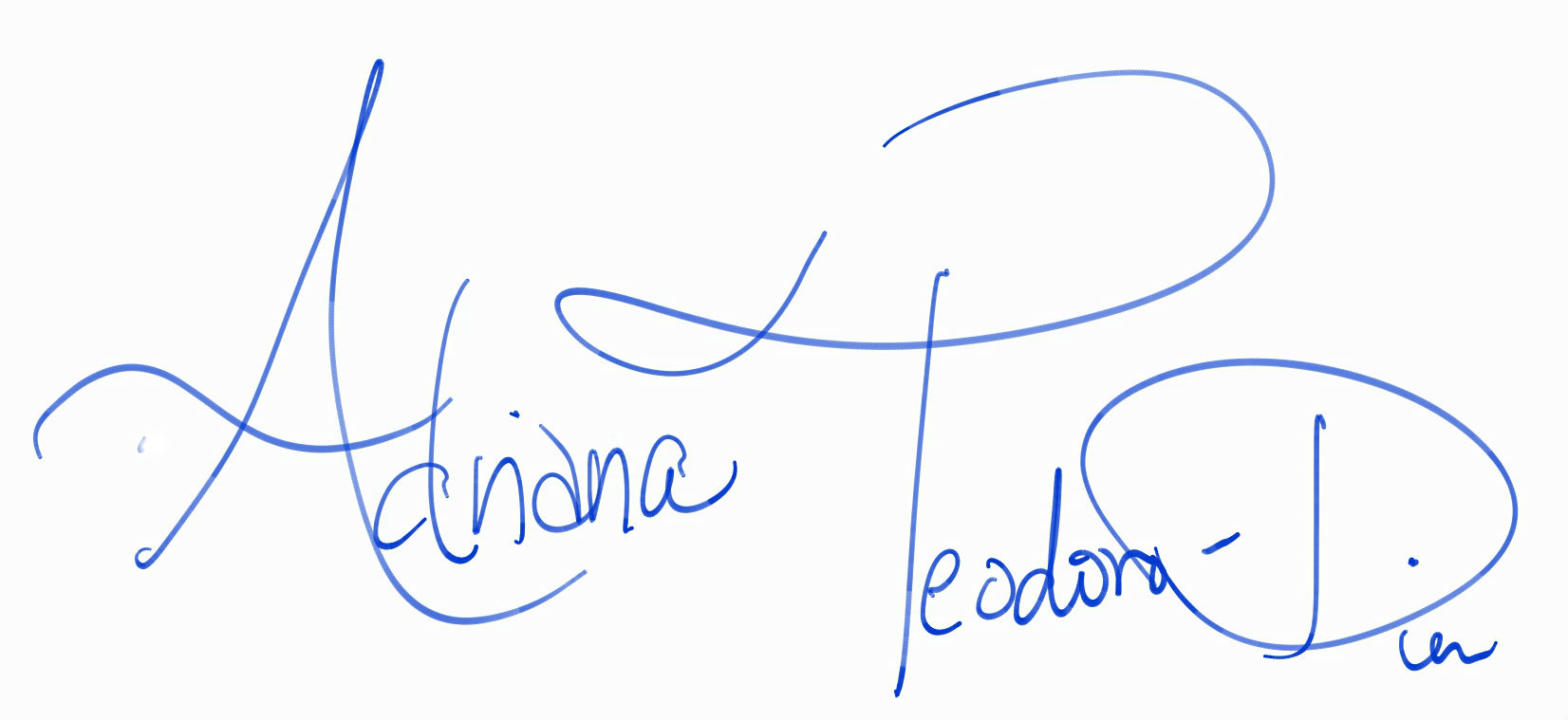 Adriana Teodoro-Dier Signature