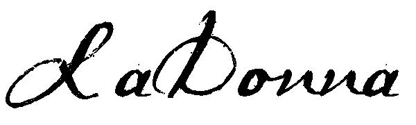 LaDonna McGee Signature