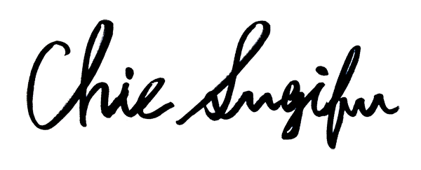 Chie Sugifu Signature