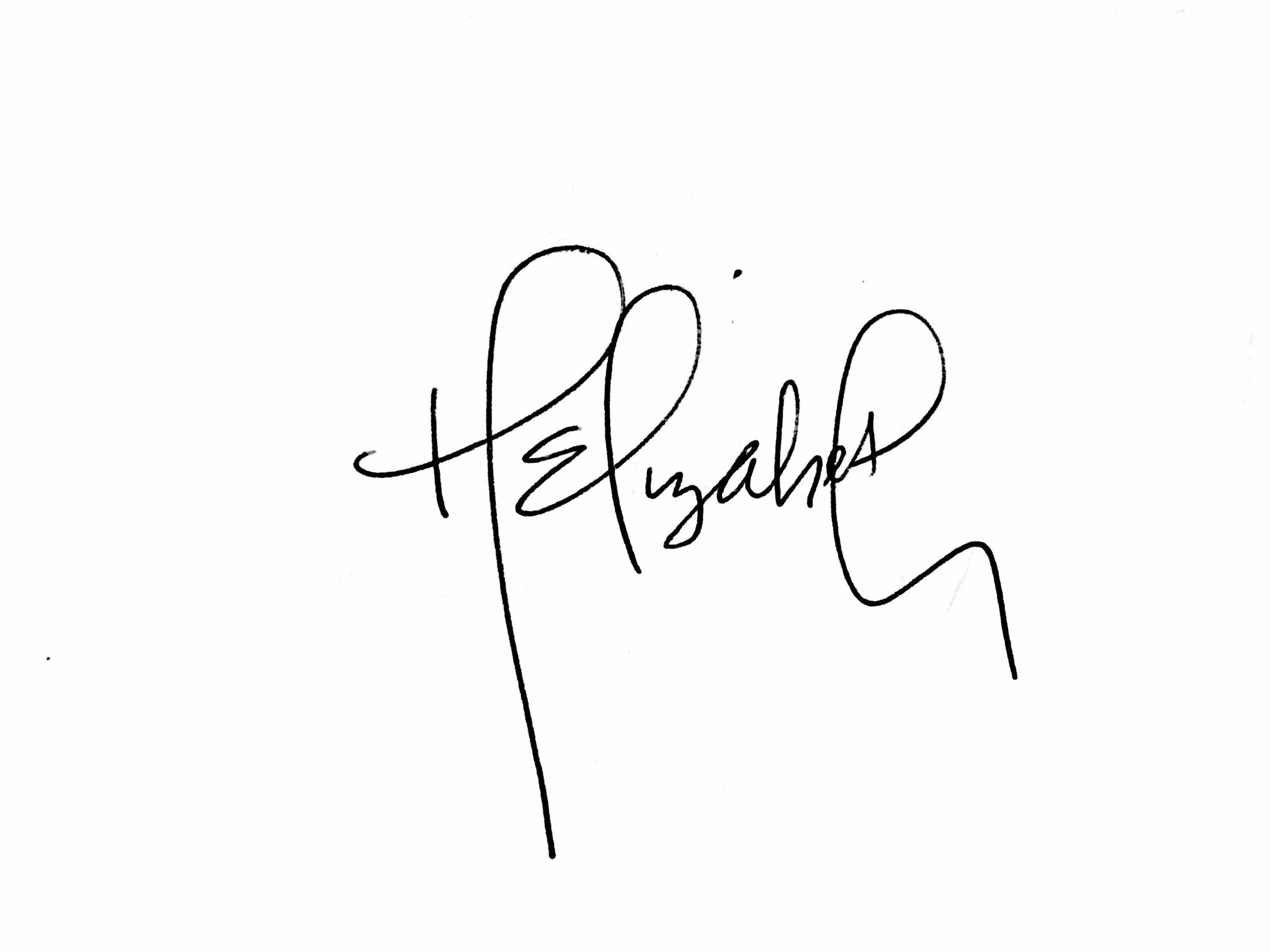 Hannah Seaman Signature
