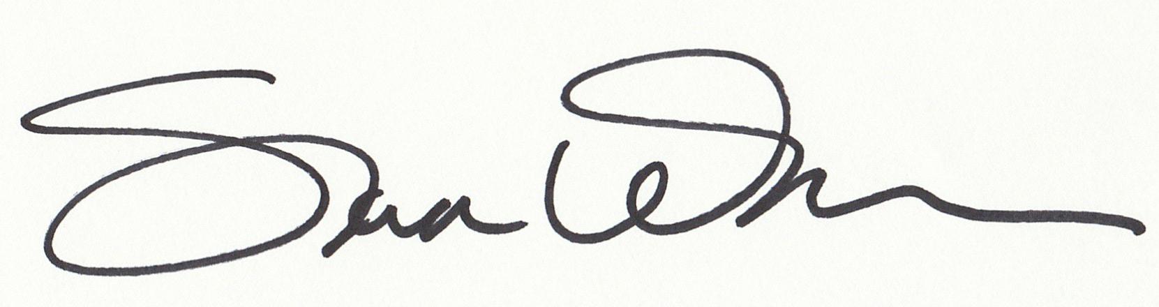 Sondra Wampler Signature