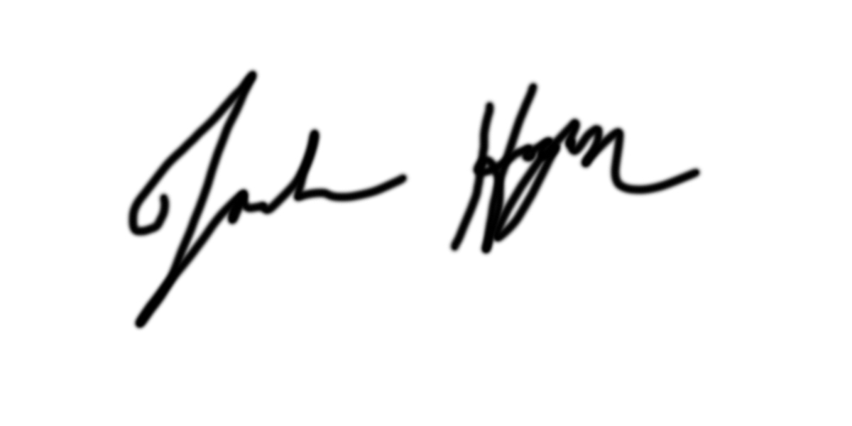 Joshua Hogan Signature