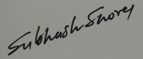 subhash shorey Signature