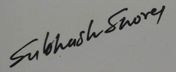 subhash shorey Signature