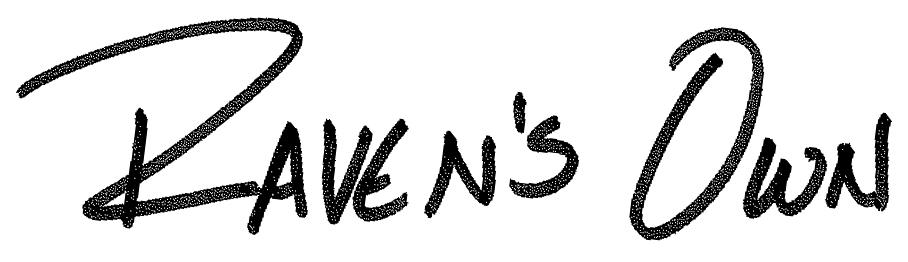 Raven's Own Signature