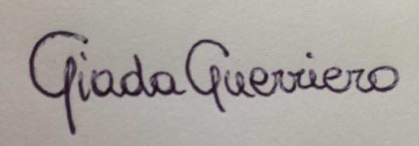 Giada Guerriero Signature