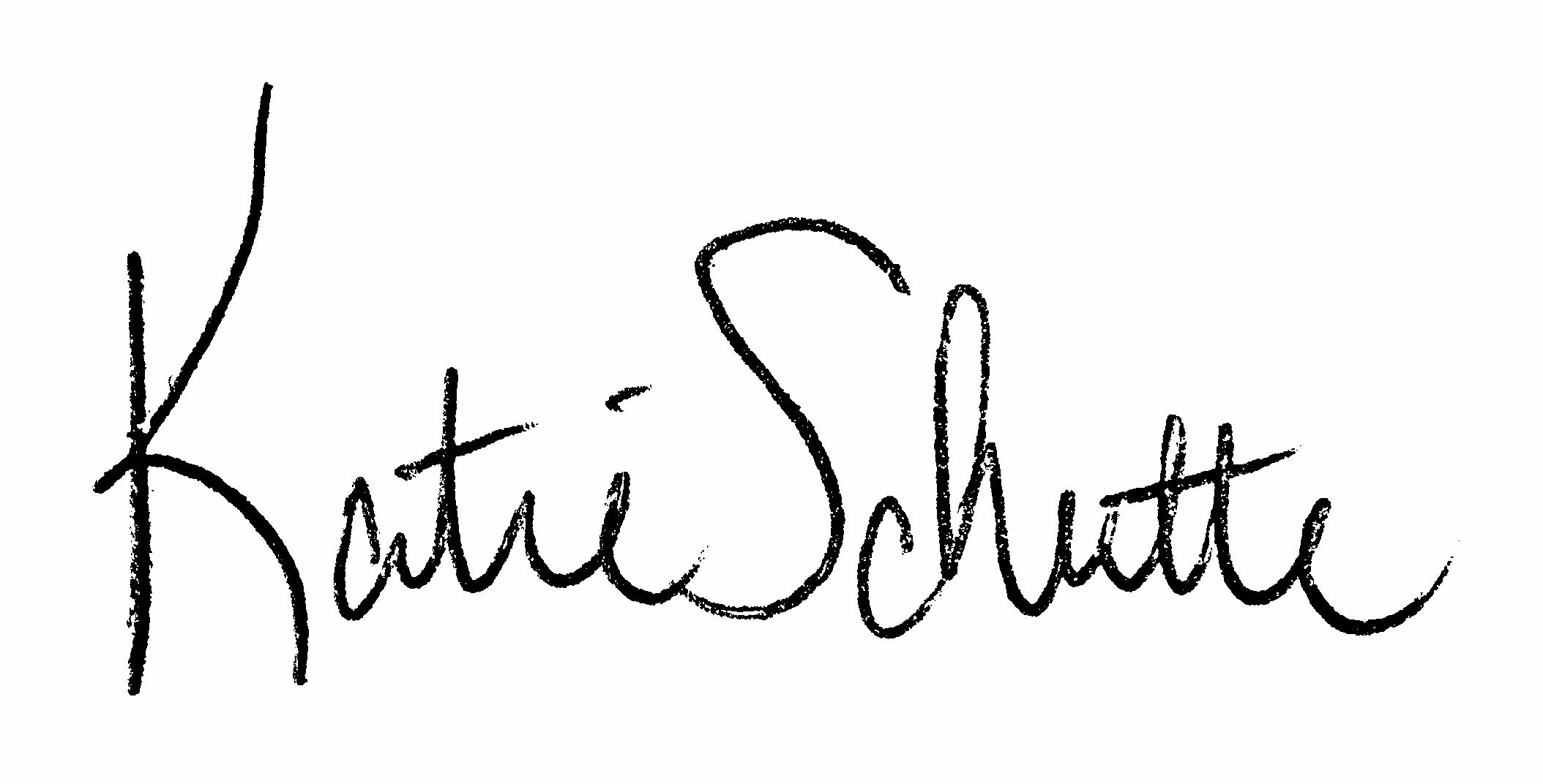 Katie Schutte Signature