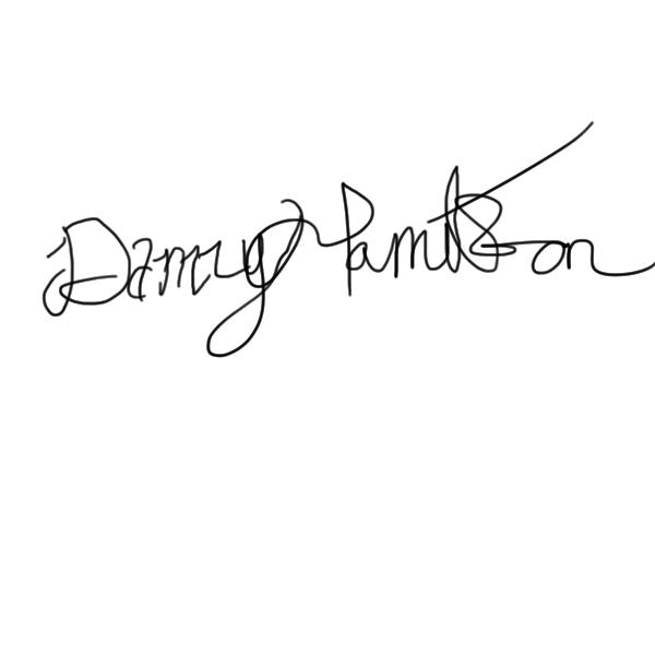 Danny Hamilton Signature