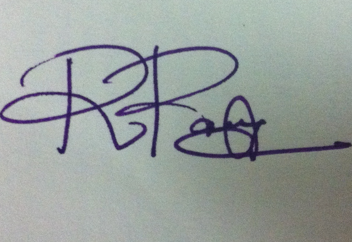 RAMYA RAMASWAMY Signature