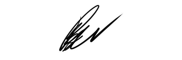 ben pergolizzi Signature