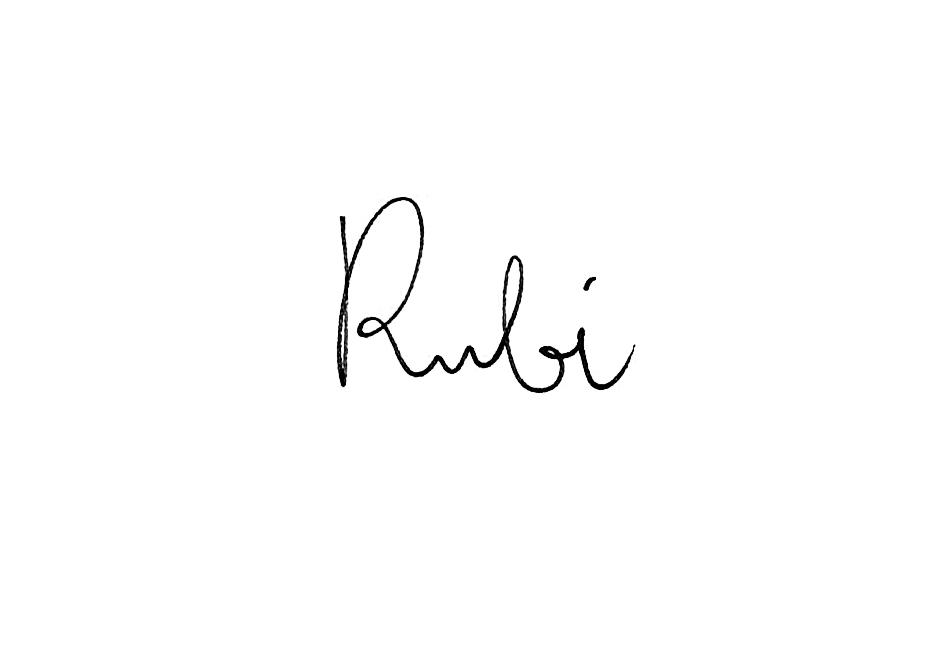Luca Rubino Signature