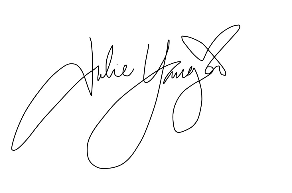 Julie  Yauger Signature