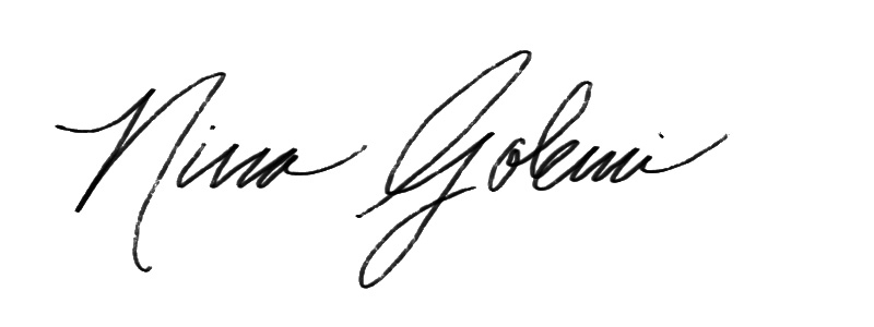 Nina golemi Signature
