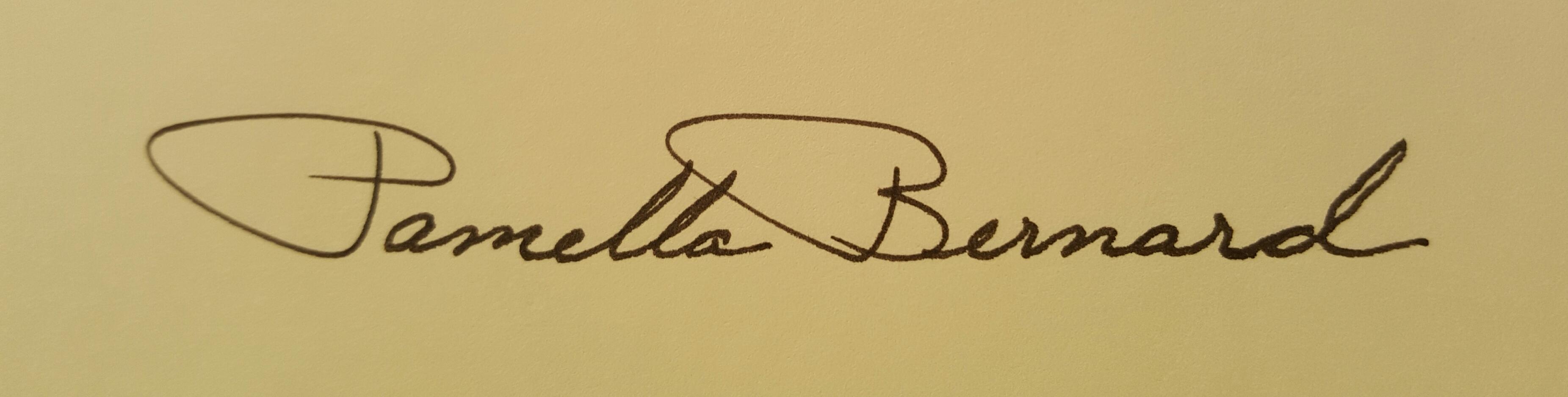 Pamella Bernard Signature