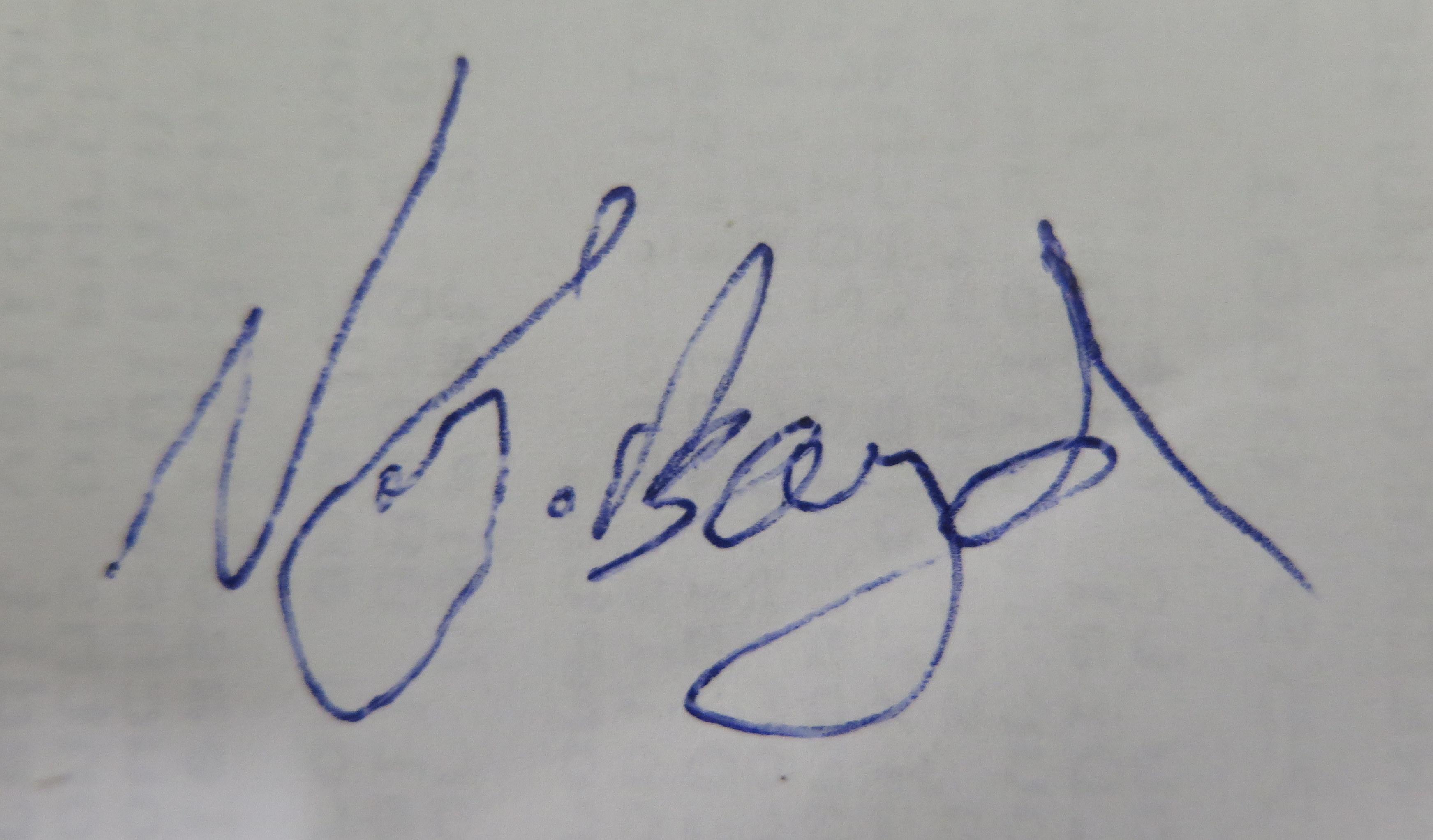 Nicholas J Boyd Signature