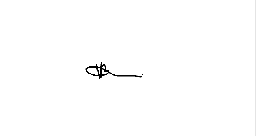 Tori  Pounds Signature