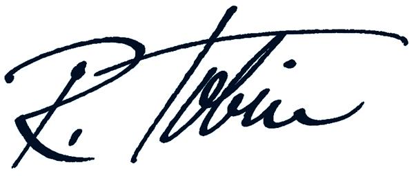 Ralph Tobin Signature