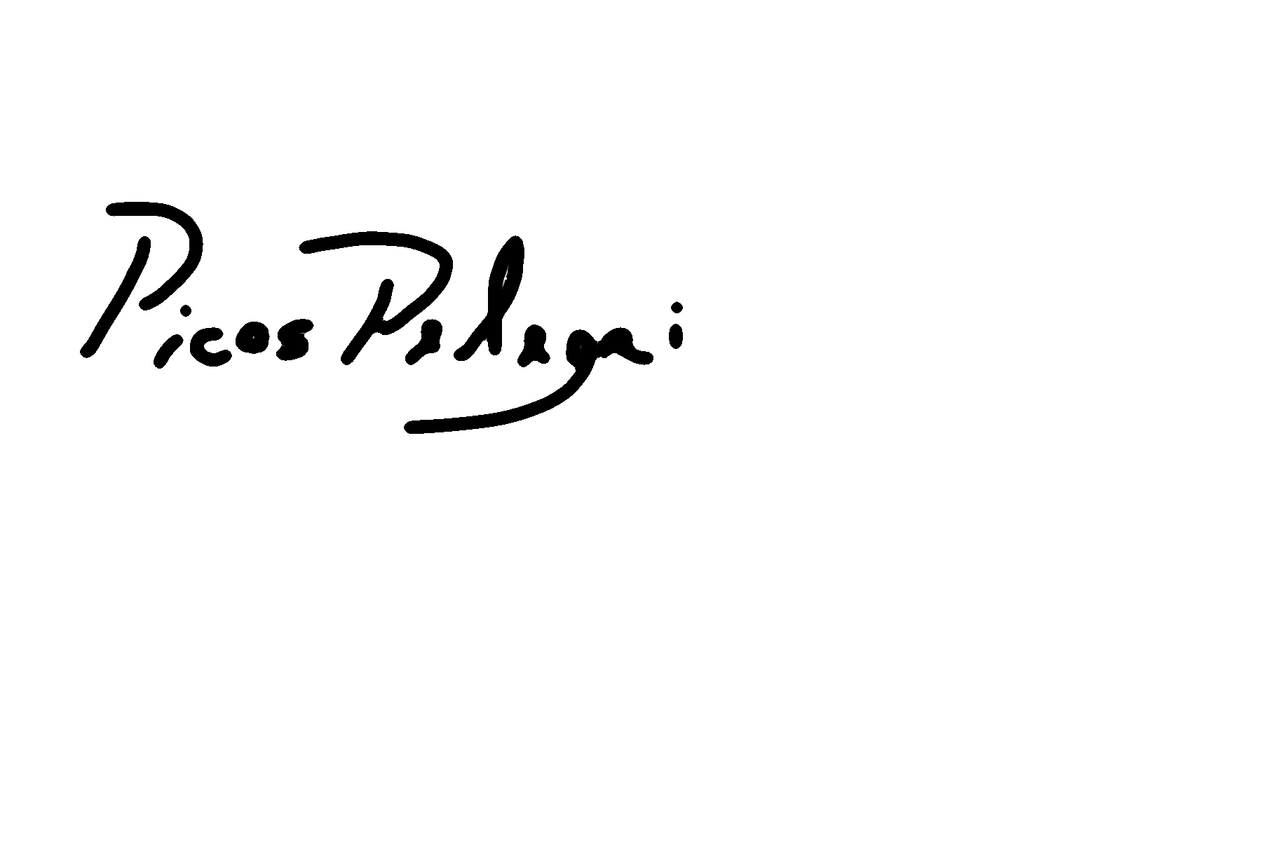 MARIANO PICOS Signature