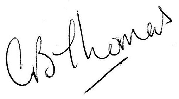 Gill Thomas Signature