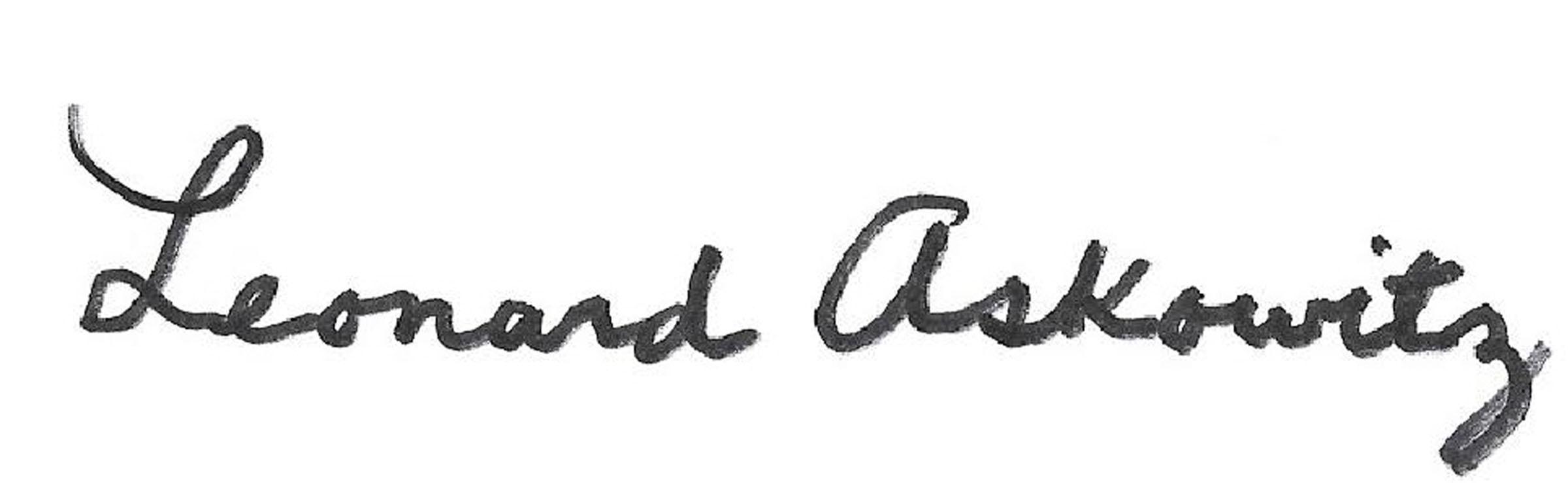 Leonard Askowitz Signature