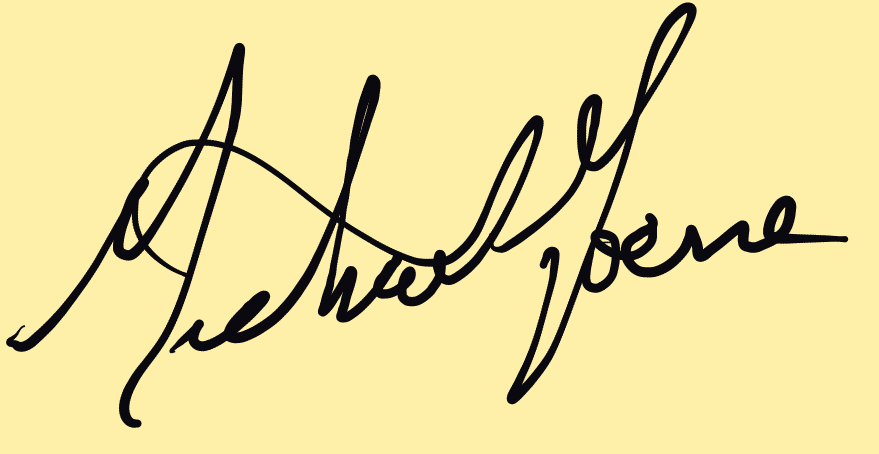 Mike Horne Signature
