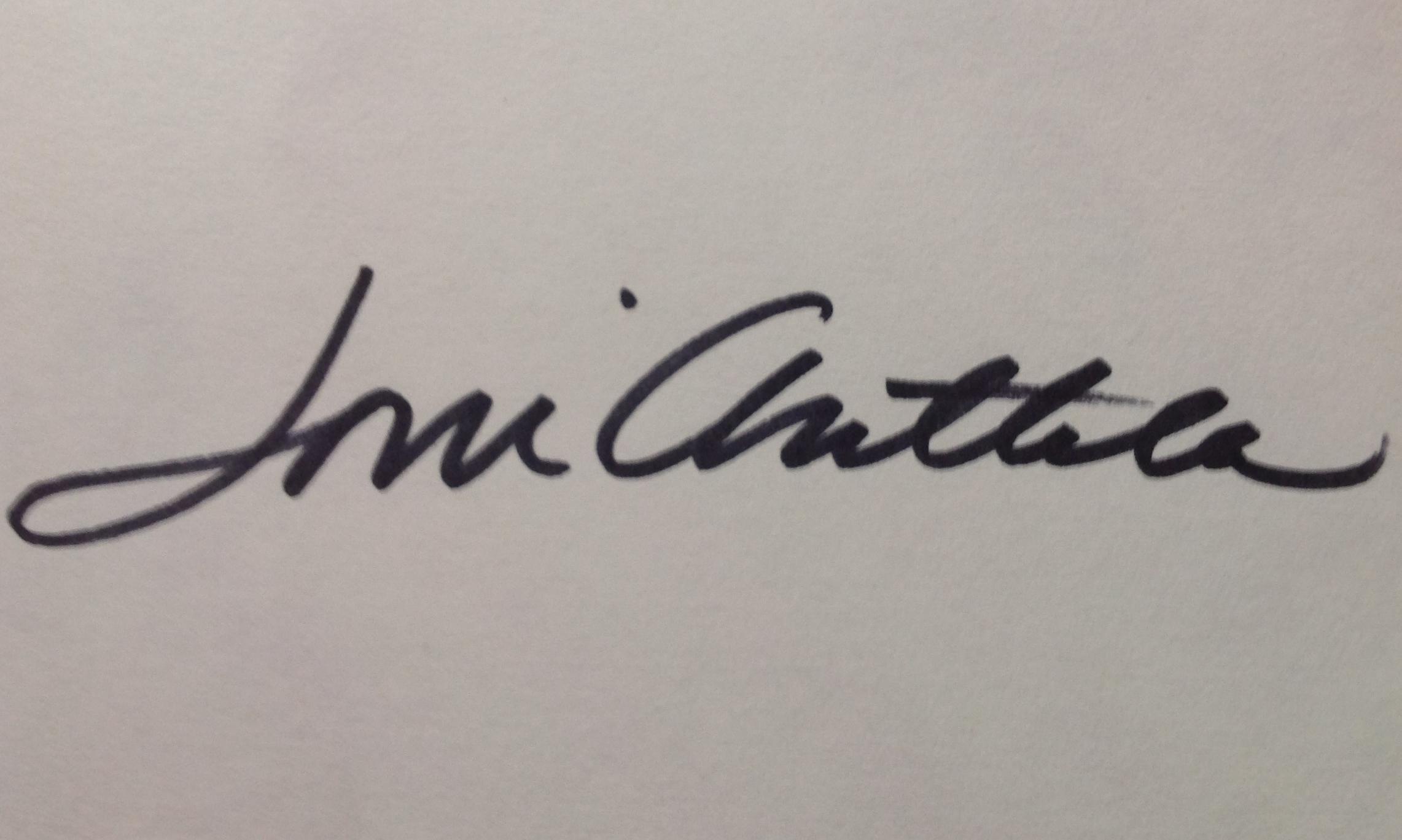 Joni Anttila Signature