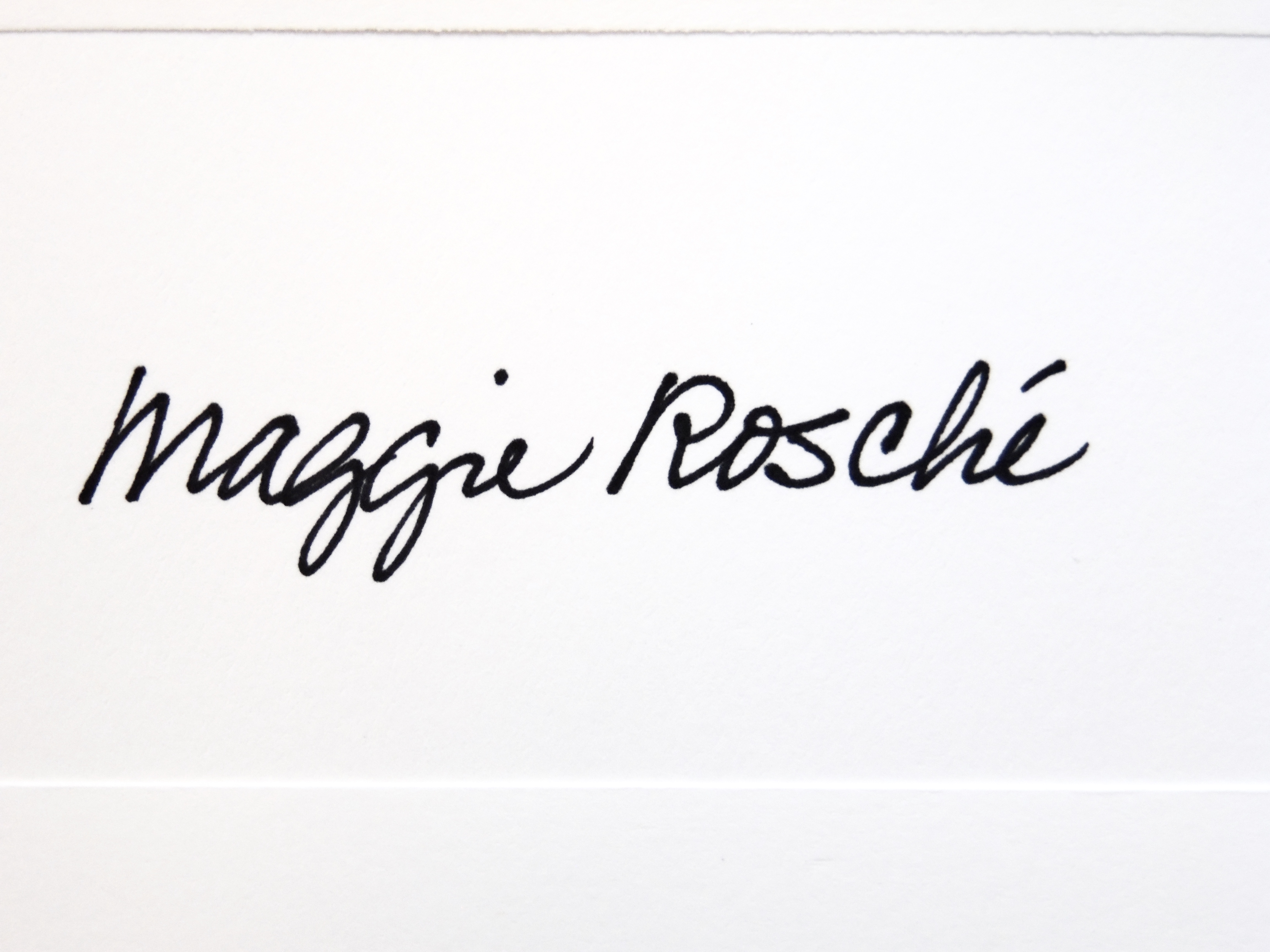 Maggie Rosché Signature