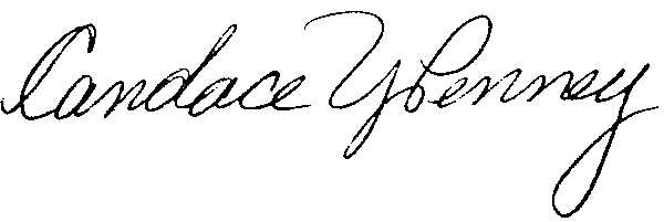 Candace Penney Signature