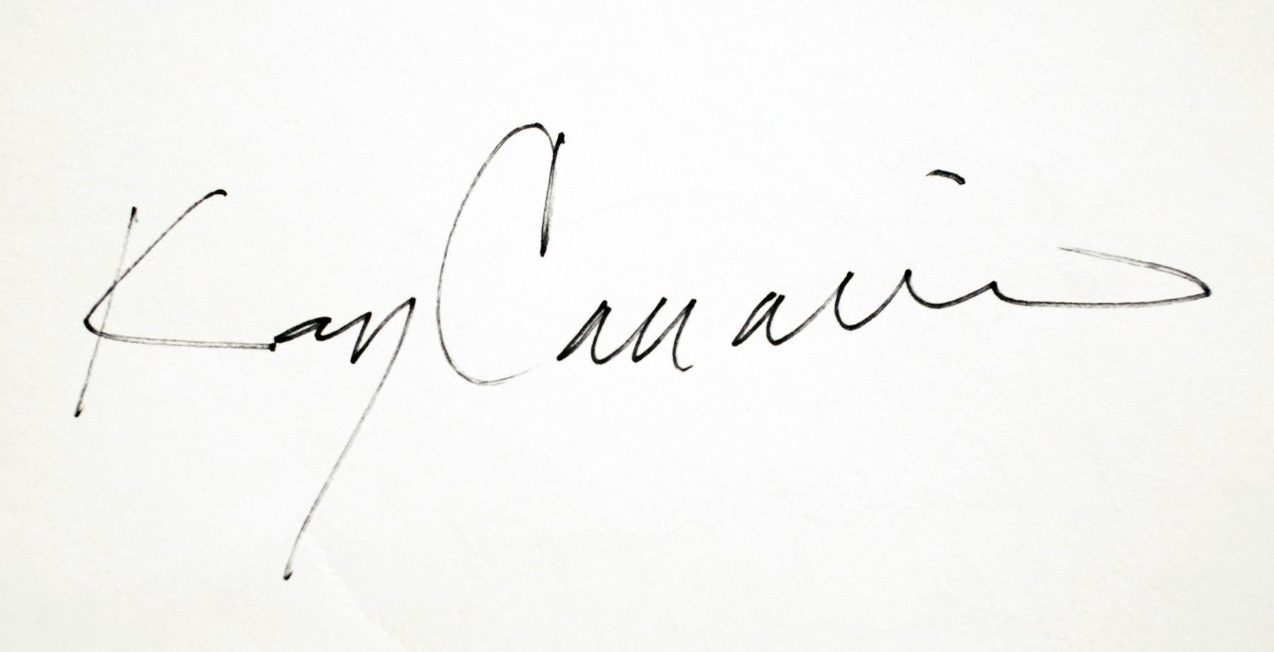kay canavino Signature