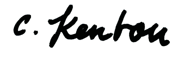 Christina Kenton Signature