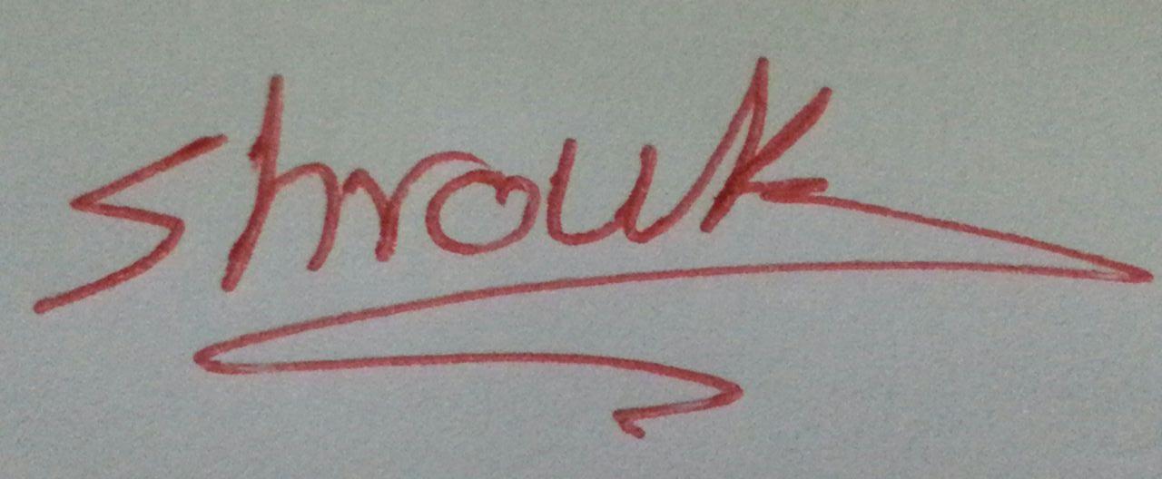 dr shrouk saad Signature