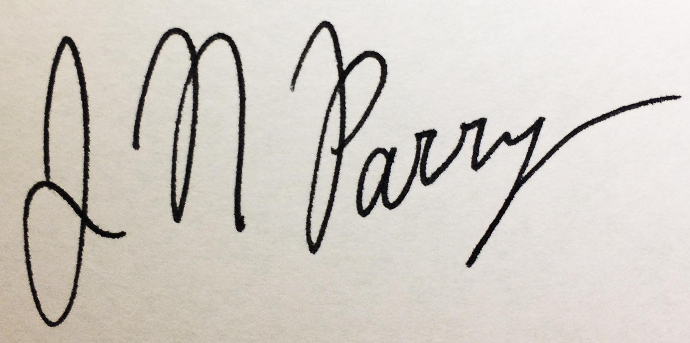 Jessica Parry Signature