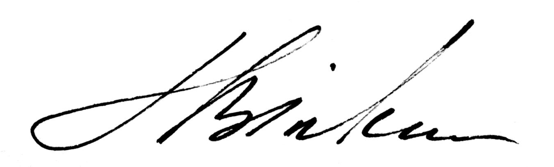 Lesia Binkin Signature