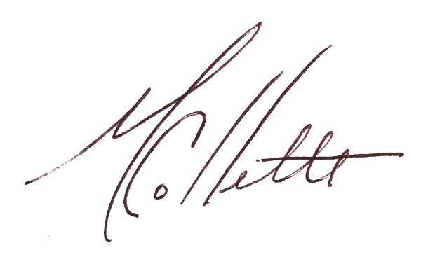 Mary Collette Signature