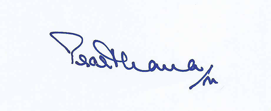 Prarthana Modi Signature