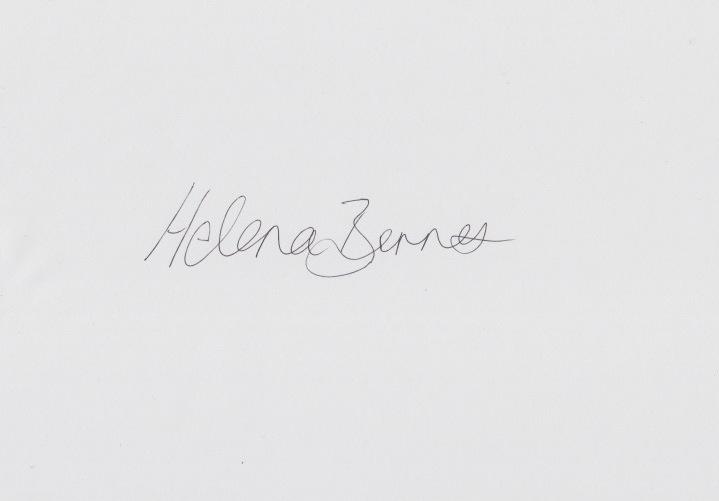Helena Barnes Signature