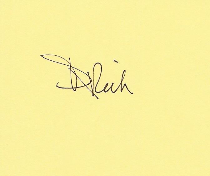 Deborah Rich Signature