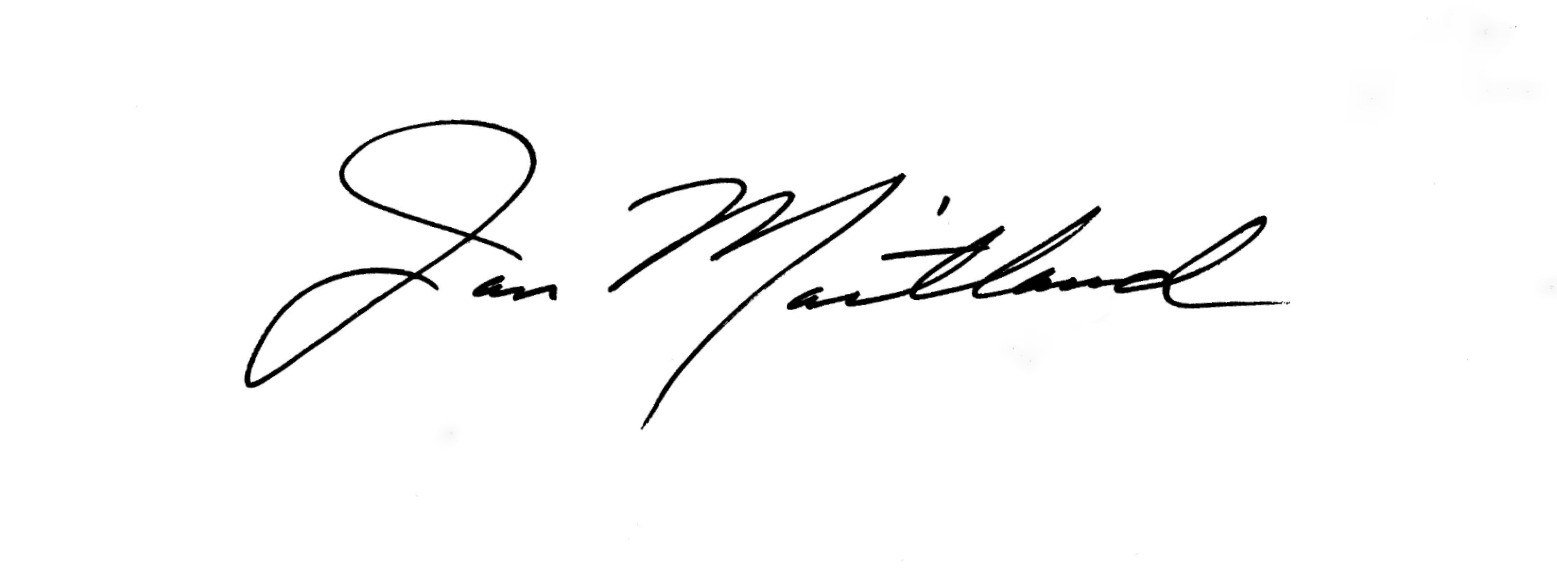 Jan Maitland Signature