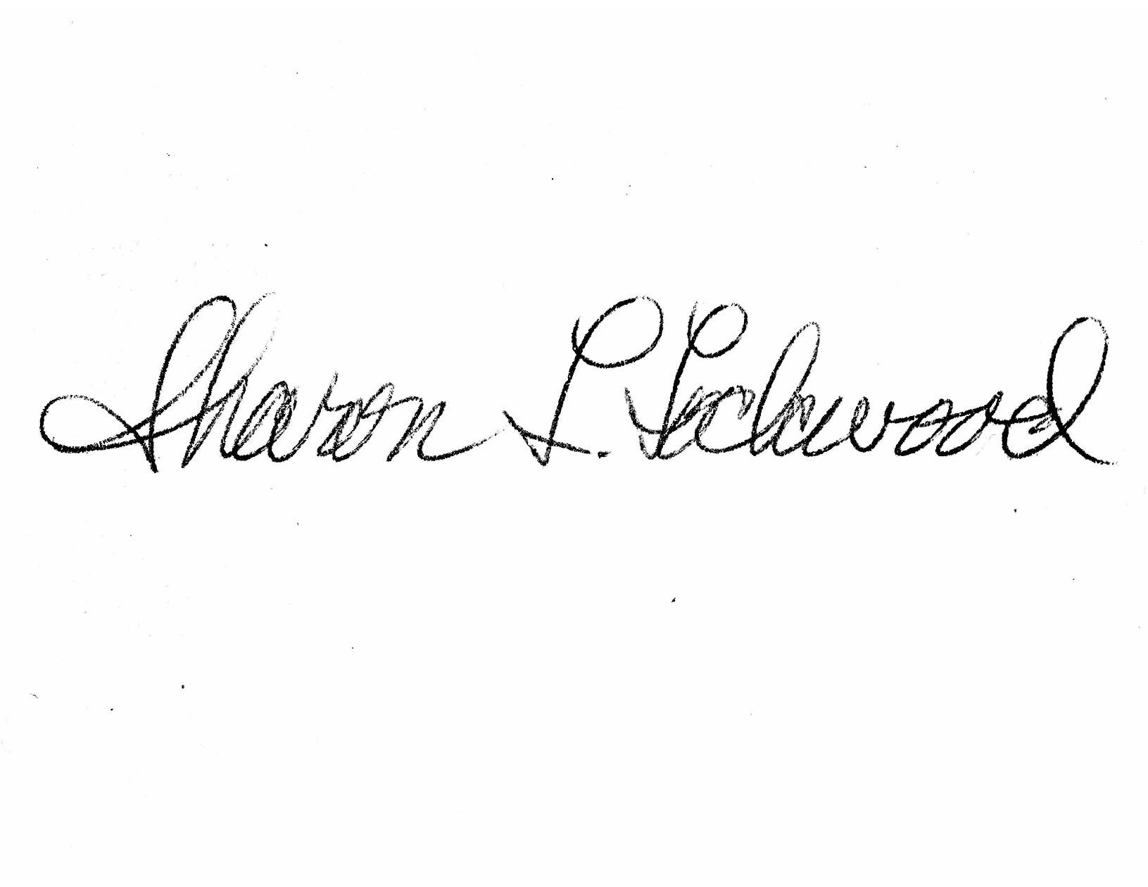 Sharon Lockwood Signature