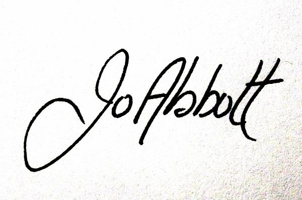 Joanne Abbott Signature