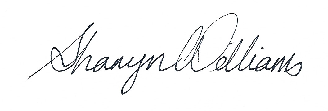 Sharyn Williams Signature
