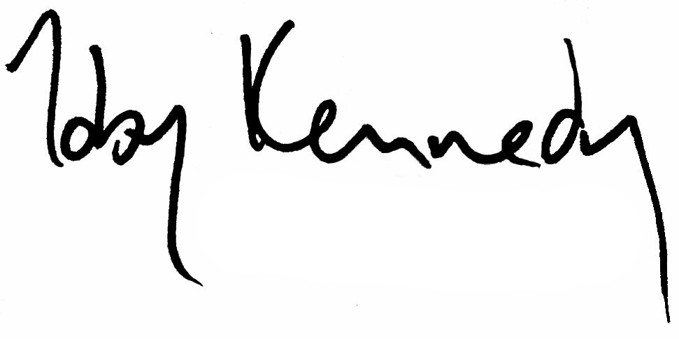 Toby Kennedy Signature