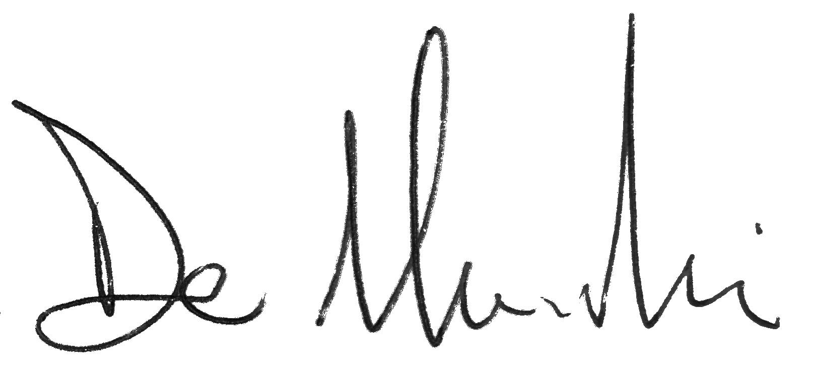Alessio De Marchi Signature