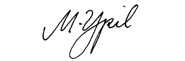 Mariel Ypil Signature