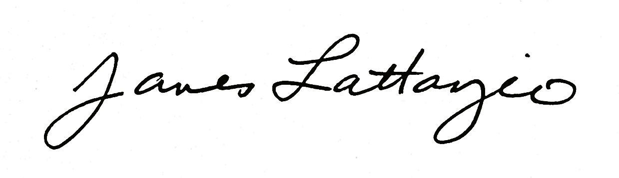 James Lattanzio Signature