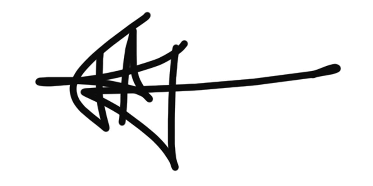 Tosca Van Haren Signature