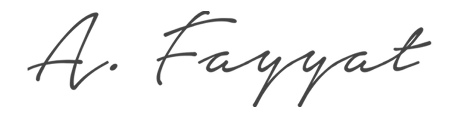 A. Fayyat Signature